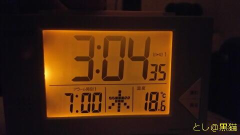 3時に目が覚める
