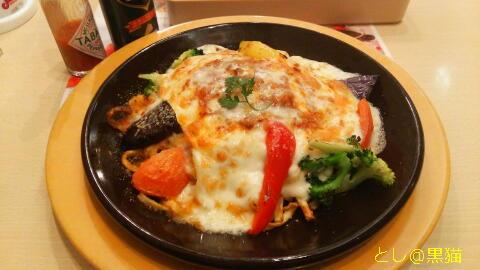 彩り野菜と生パスタのラザニア仕立て