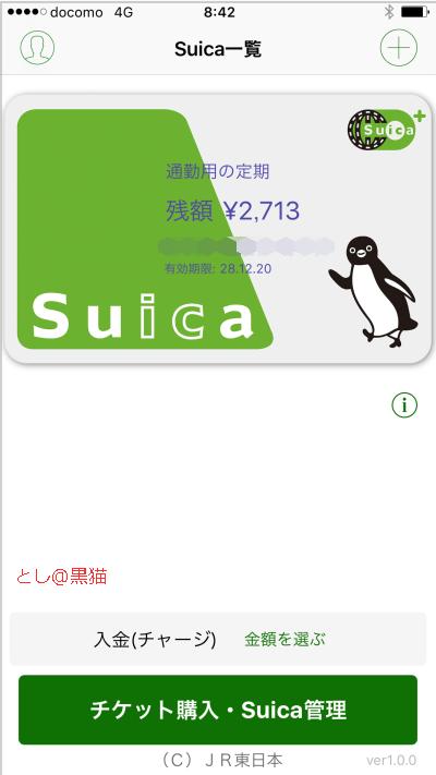 Suica定期券