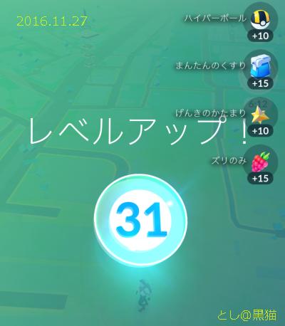 ポケモン GO レベル 31