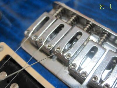 ZO-3専用弦を張る