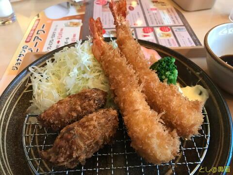 店仕込みの大海老かき膳 → 北陸新幹線かがやきで金沢へ