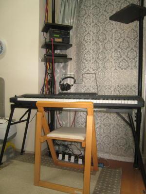 MIDIキーボード(76鍵盤)