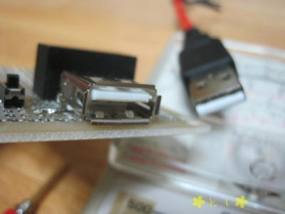 USB タイプAコネクタ