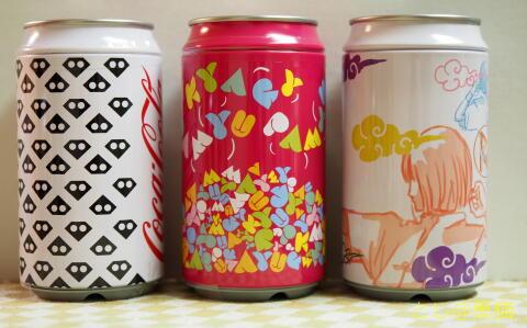 きゃりーぱみゅぱみゅ コカ・コーラ 缶型アンプ付 スピーカー