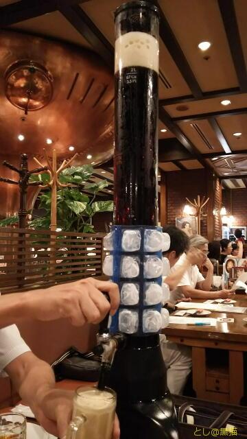 恵比寿ガーデンプレイス ビアステーションで仲間飲み