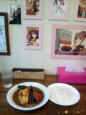 スープカレー カムイ 「どさんこベーコンエッグ野菜 スープカレー」