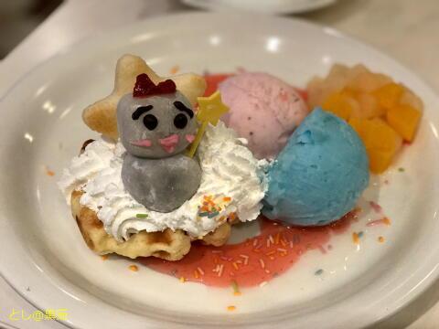 AKB48 CAFE & SHOP ゆきりん & キキララ スイーツプレート