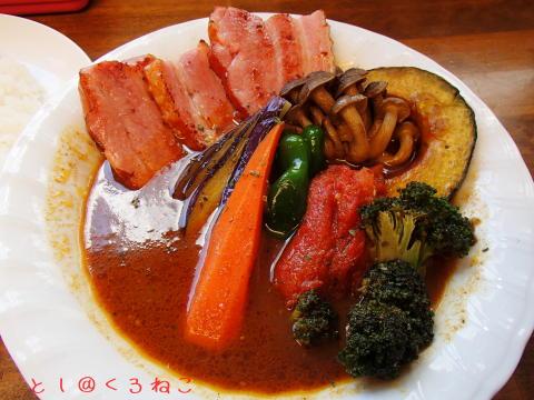 スープカレー カムイ どさんこベーコン 野菜 カレー