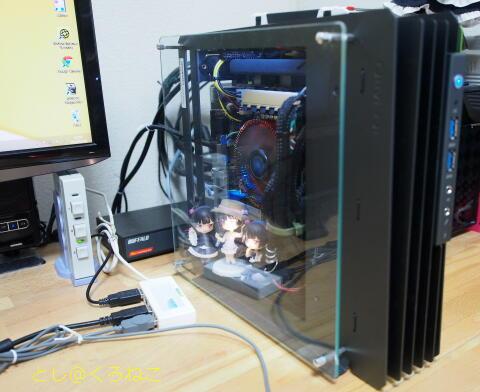 [PC作るよ・その12] 2.5インチ HDD増設して SSDをフルバックアップ