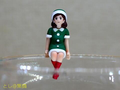 コップのフチ子 クリスマスバージョン